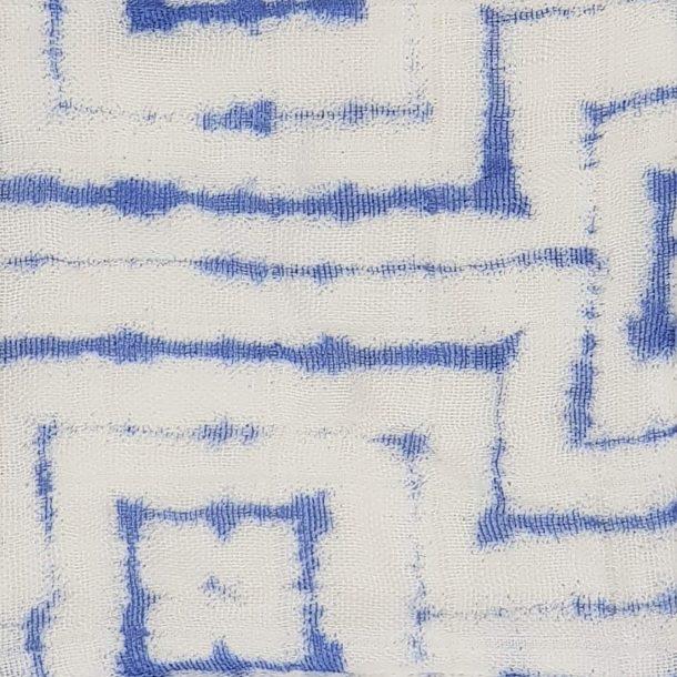 Tie and dye Bleu