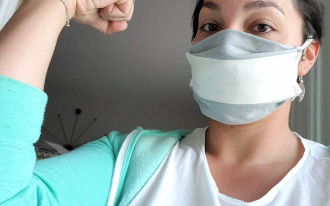 Masques en tissu ou le dilemme du confinement – 6eme semaine à la maison
