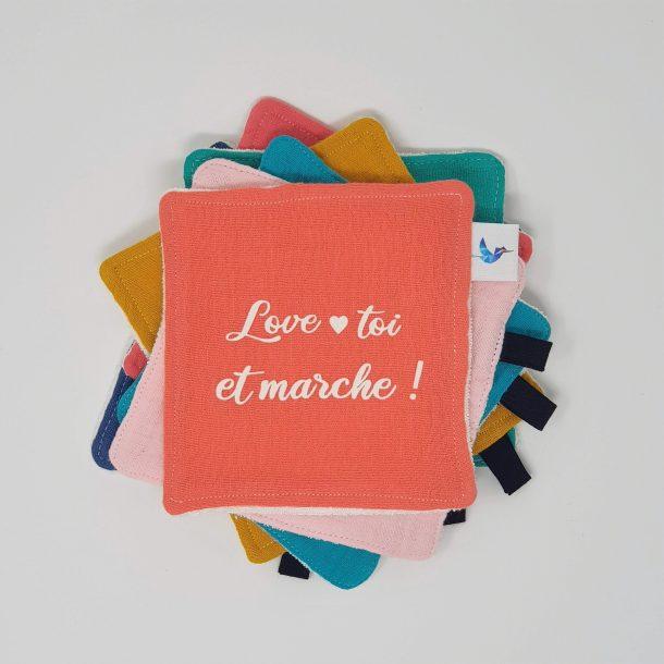 Love-toi et marche !