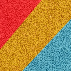 Rouge / Moutarde / Bleu ocean